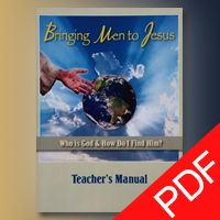 Bringing Men To Jesus - Teacher's Manual PDF